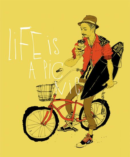 Breitengrad 53.5 Life is a Picnic Poster