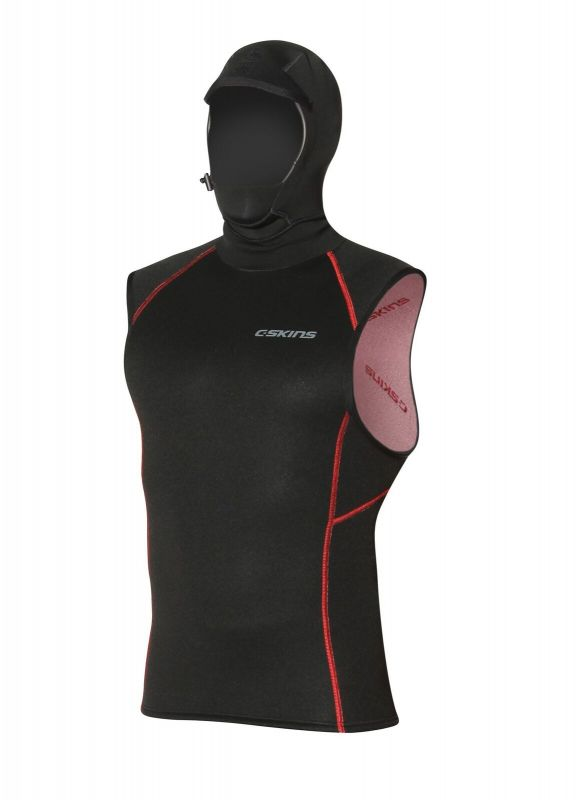 C-SKINS 0.5mm Hot Wired Hooded Vest