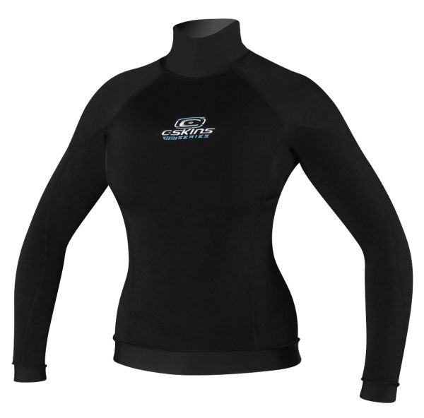 C-Skins Womens L/S HDi Thermal Polypro Vest