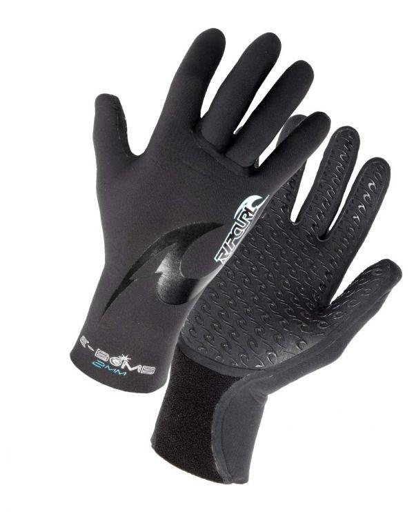 E Bomb Glove 2mm 5 Finger gekrümmt