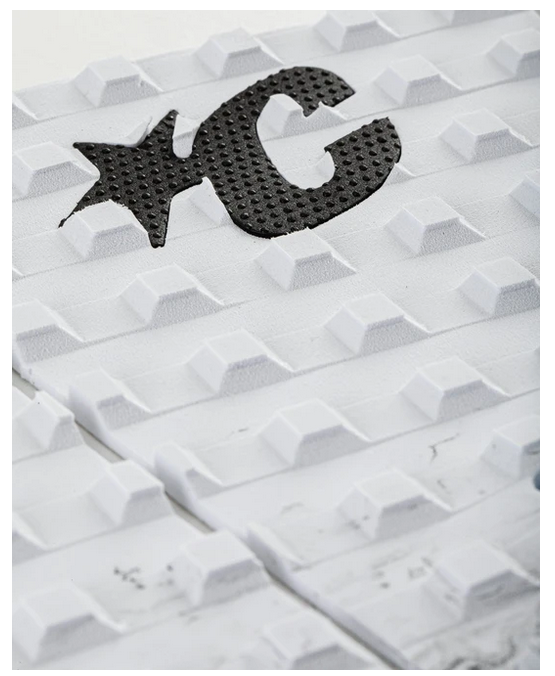 Creatures of Leisure  Mick Fanning Signature Traction Pad white fade black