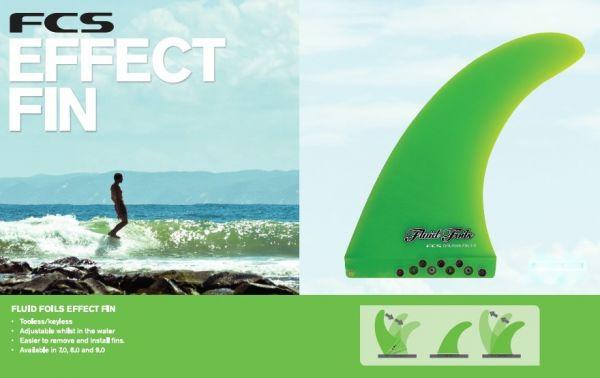FCS Fluid Foils Dolphin EFFECT FIN