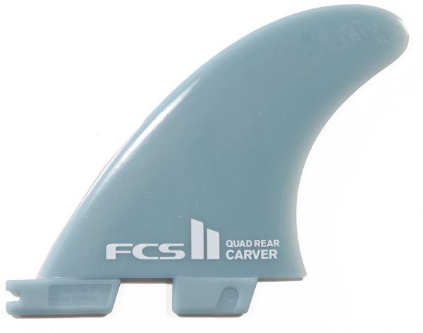 FCS 2 Fin System CARVER Quad Rear Glasflex  Medium