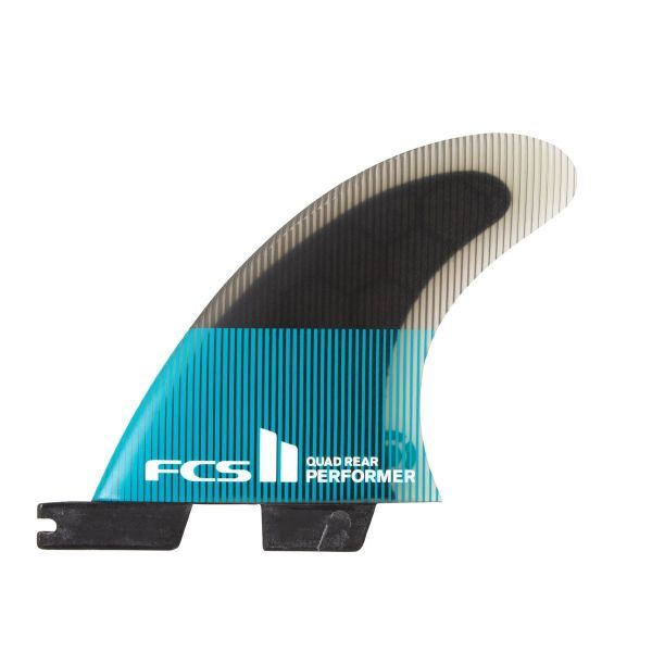 FCS 2 Fin System Performer Quad Rear PC Large