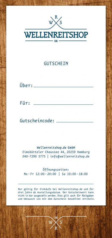 Gutschein für wellenreitshop.de