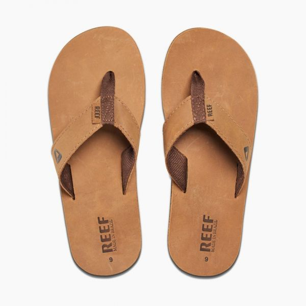 Reef Leather Smothy Bronze Brown