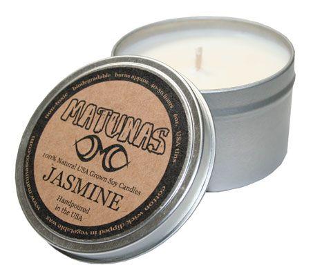 Matunas Candle 100% Natural Jasmine