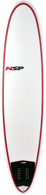 NSP 7.6 Classic Funboard red