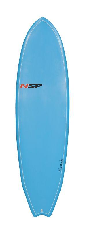 NSP ELEMENT FISH SERIE 6'4'' blue