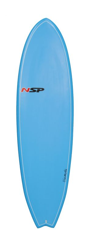 NSP ELEMENT FISH SERIE 6'6'' blue