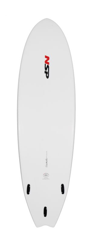 NSP ELEMENT FISH SERIE 6'6'' weiss