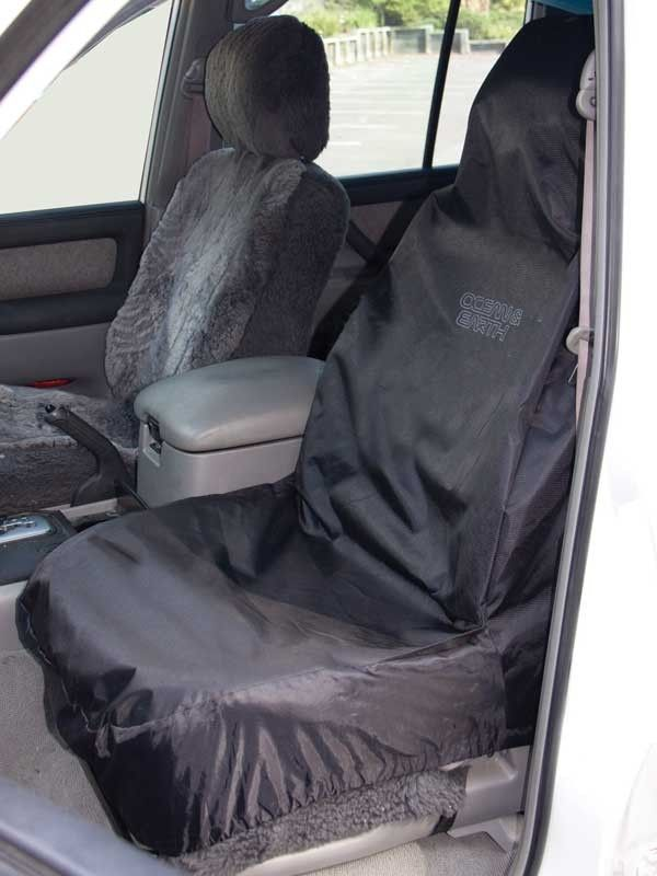 Ocean Earth Dry Seat Cover