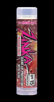 Zinka Lip Balm Passion Fruit Flavored (SPF 15)