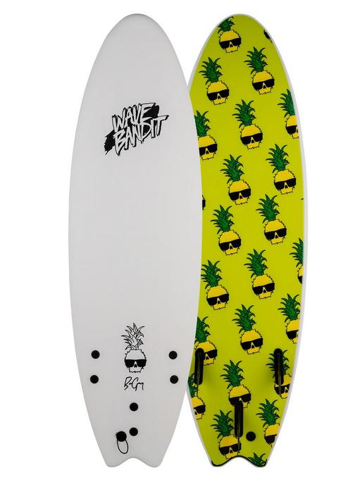 "Wave Bandit Ben Gravy Performer 6.6"" Softboard"