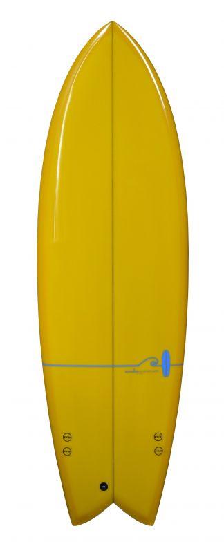 Norden Retro Fish 5.10 yellow