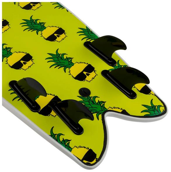 "Wave Bandit Ben Gravy Retro Fish 5.8"" Softboard"