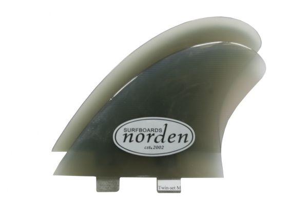 Norden Twin Fins medium smoke