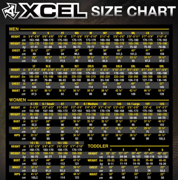 Xcel WMS Infinity Comp X2 5-4